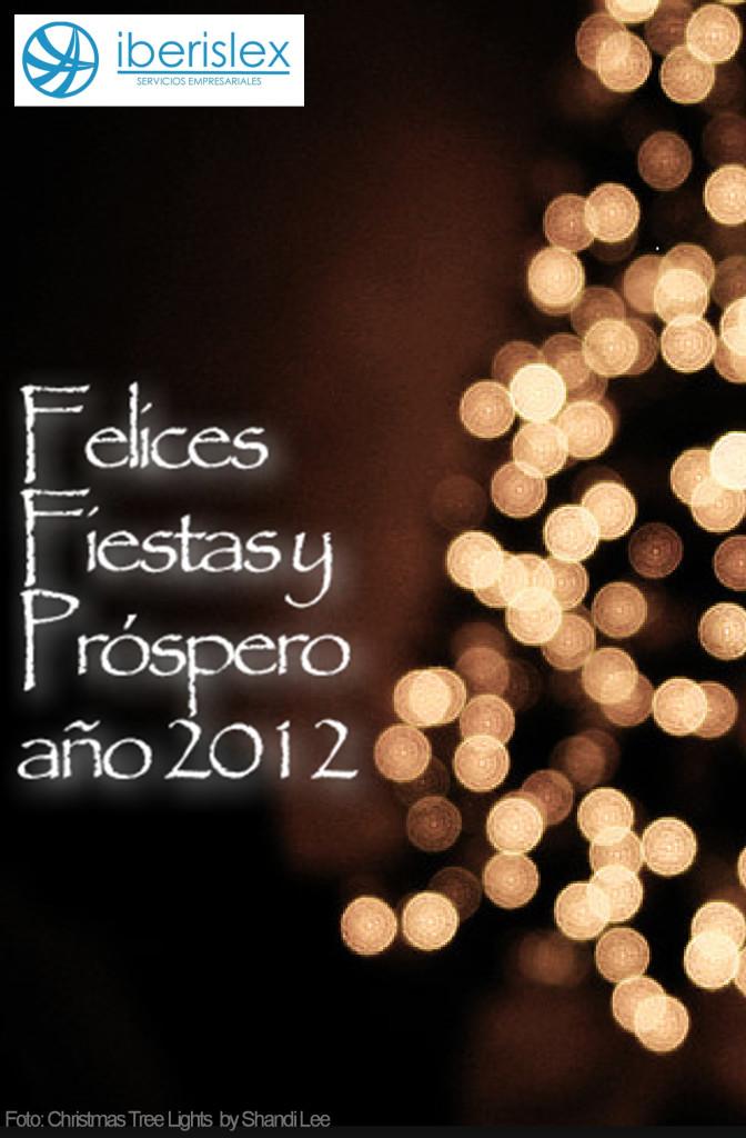 Iberislex os desea Felices Fiestas