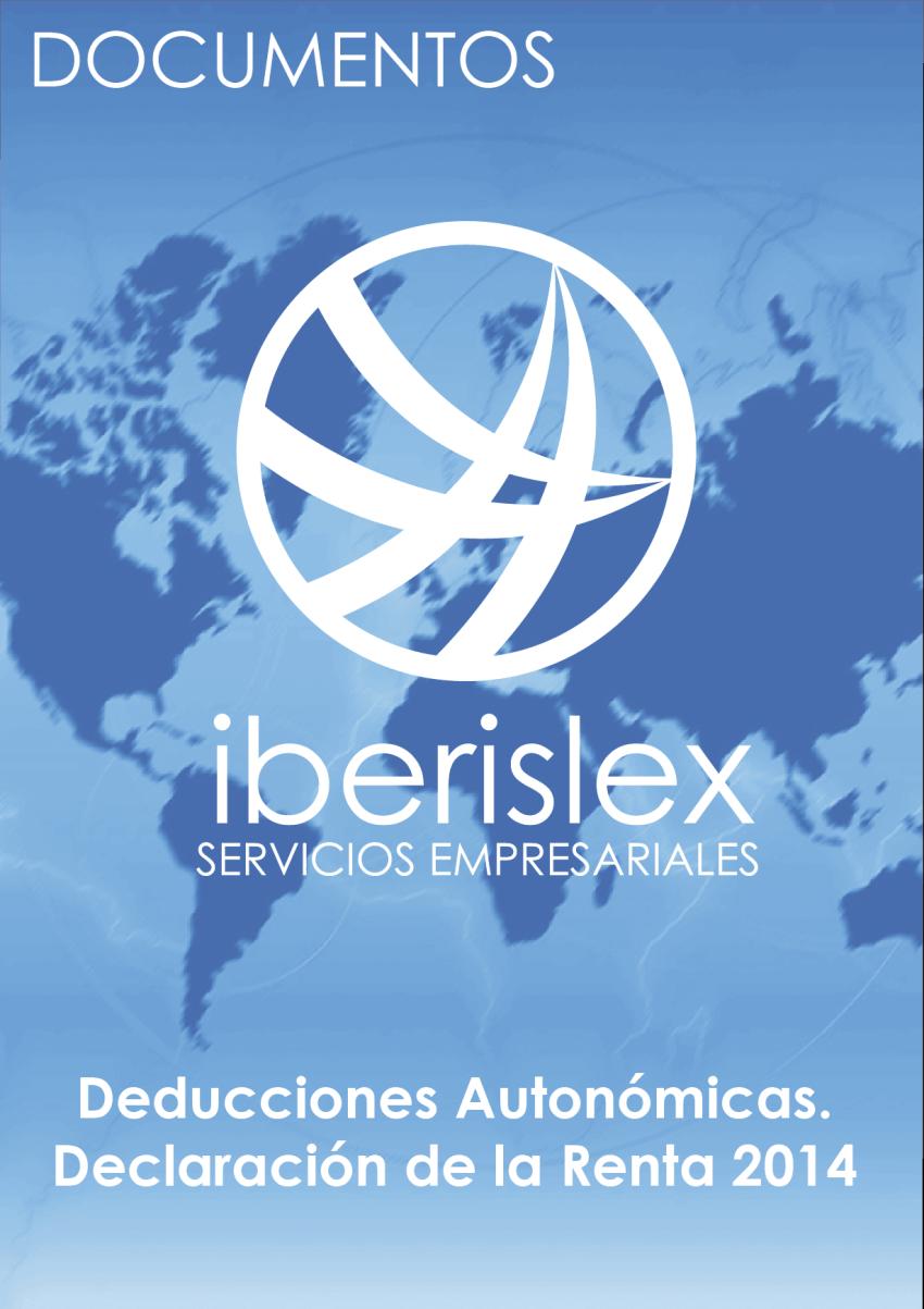 Deducciónes Autonómicas 2014