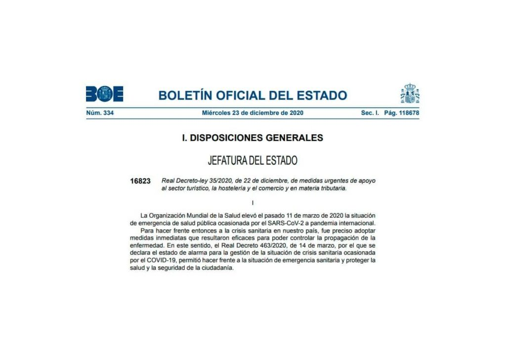 RDL 35/2020